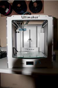 L'une des deux imprimantes 3D du FOL