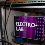 La cuve à vide de l'Electrolab