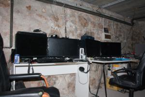 L'espace gestion des serveurs du FabLab