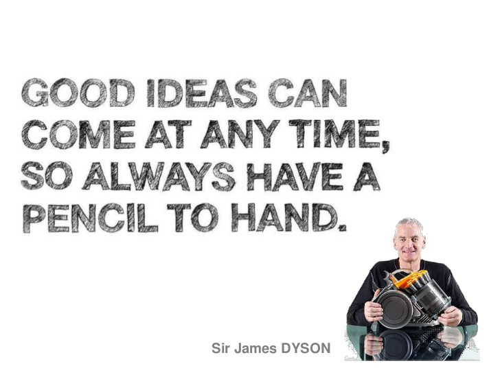 design, dyson, citation, quote, design, thinking, product
